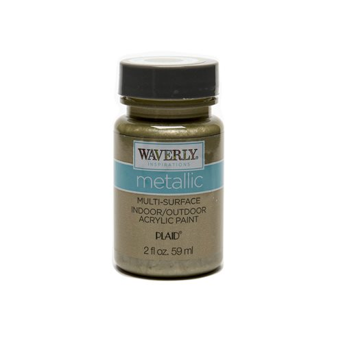 Waverly ® Inspirations Metallic Multi-Surface Acrylic Paint - Moonstone, 2 oz.