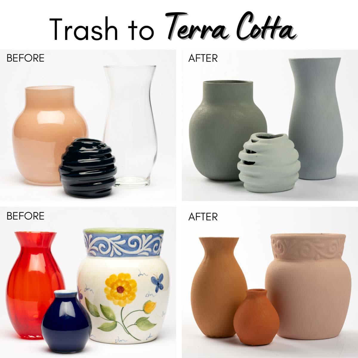 FolkArt ® Terra Cotta™ Acrylic Paint - Adobe White, 2 oz. - 7012