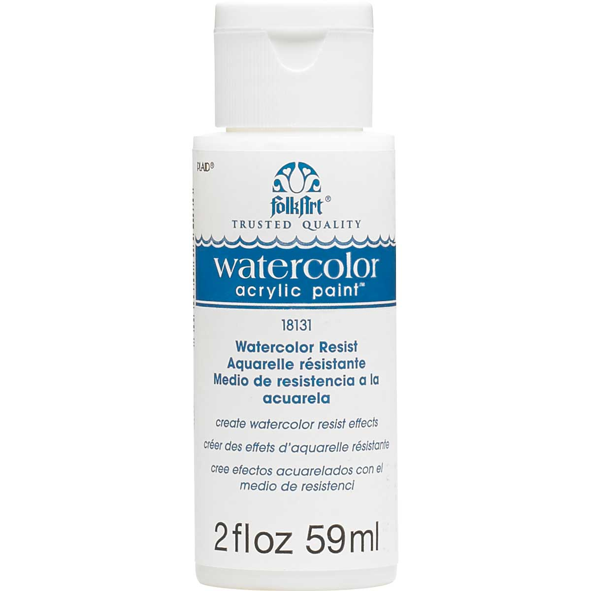 FolkArt ® Watercolor Acrylic Paint™ Resist 2 oz. - 18131