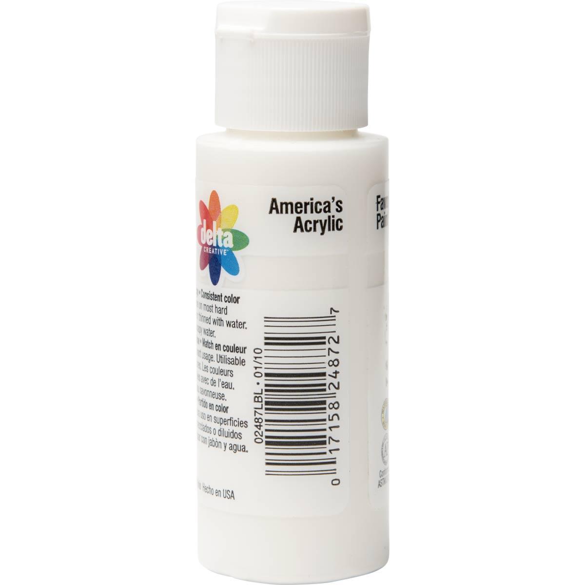 Delta Ceramcoat ® Acrylic Paint - Magnolia White, 2 oz. - 024870202W