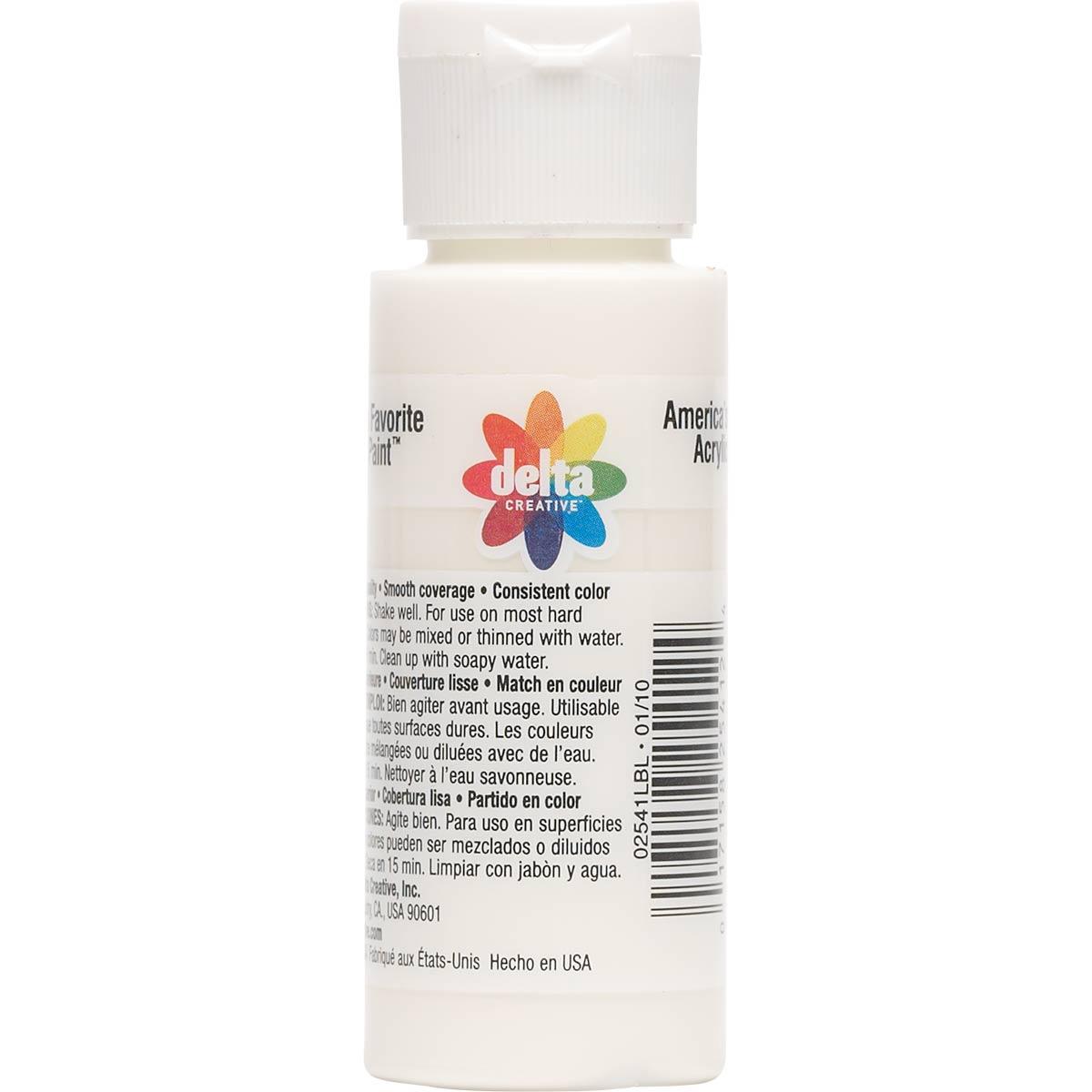 Delta Ceramcoat ® Acrylic Paint - Seashell White, 2 oz. - 025410202W