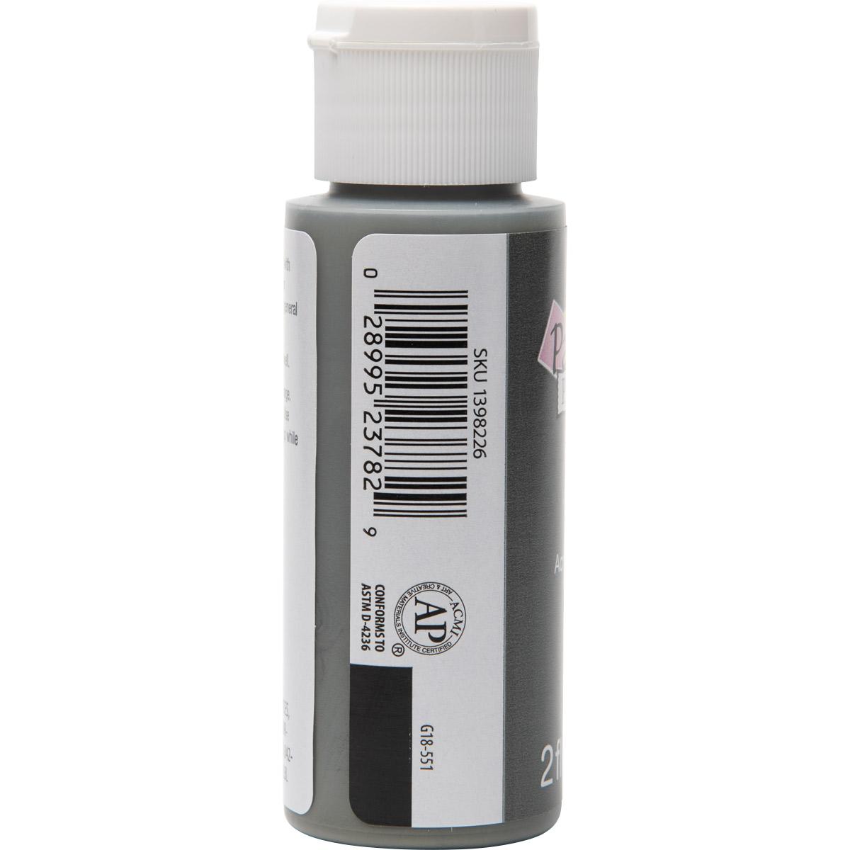 Plaid ® Painter's Palette™ Acrylic Paint - Gray, 2 oz. - 23782
