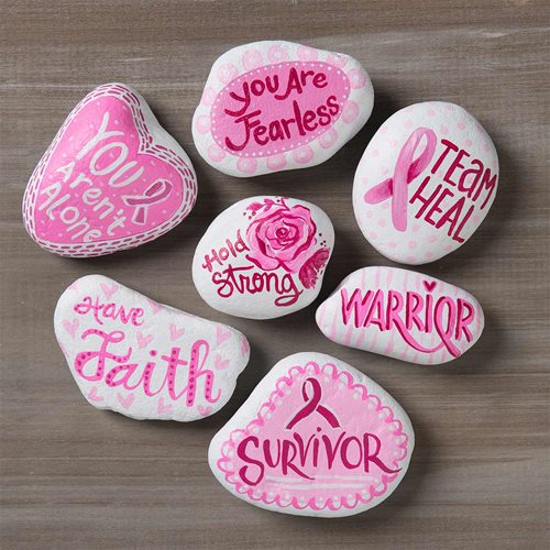 Breast Cancer Awareness DIY Kindness Rocks