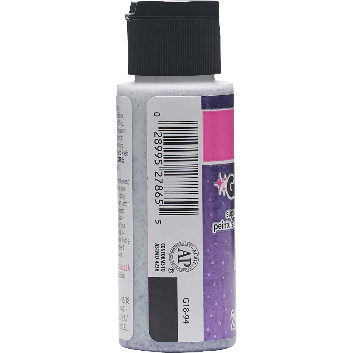 LaurDIY ® Galaxy Glitter Fabric Paint - Magnetic, 2 oz.