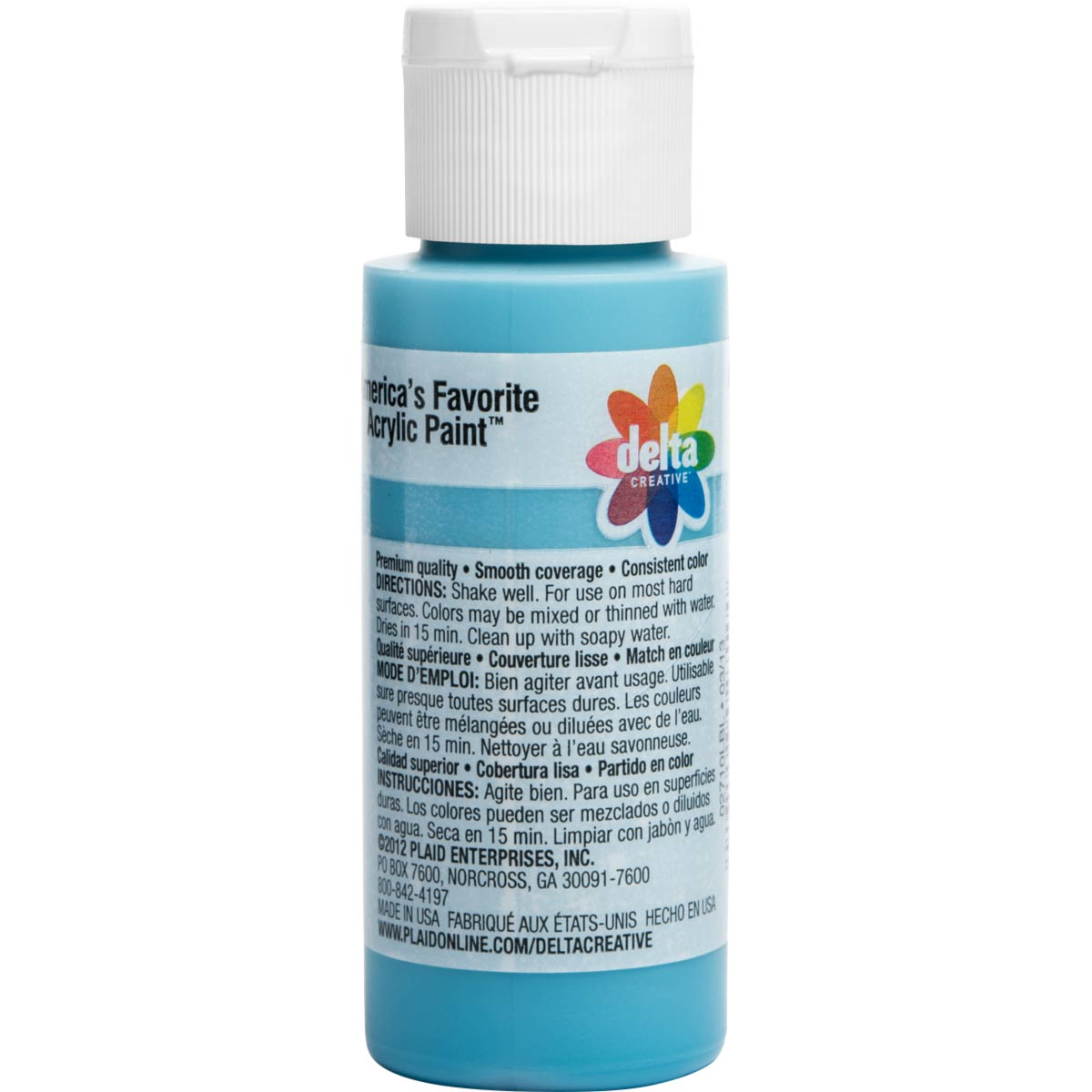 Delta Ceramcoat ® Acrylic Paint - Mermaid Blue, 2 oz.