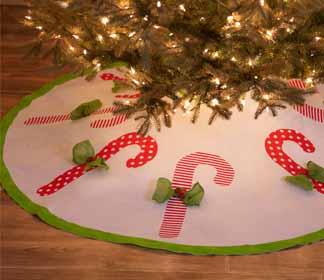 DIY Christmas Tree Skirt and Gifts