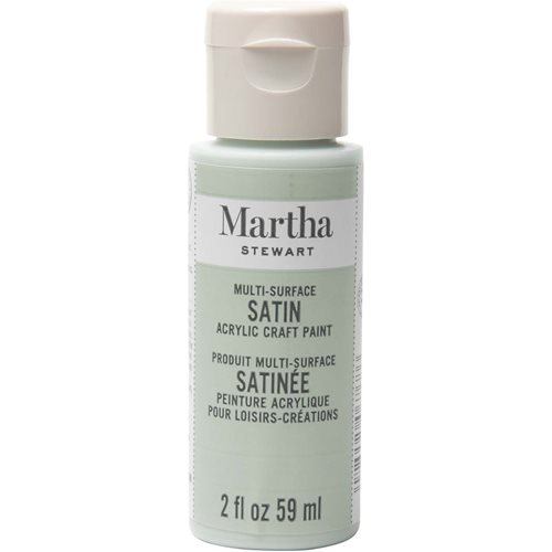 Martha Stewart ® Multi-Surface Satin Acrylic Craft Paint - Cloud, 2 oz. - 32022CA