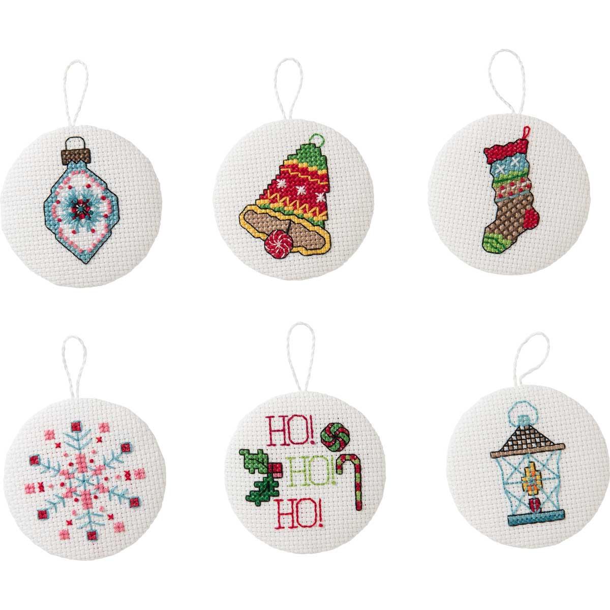 Bucilla Seasonal - Counted Cross Stitch - Tree Trimmer Kits - Hallmark - Magical Moments
