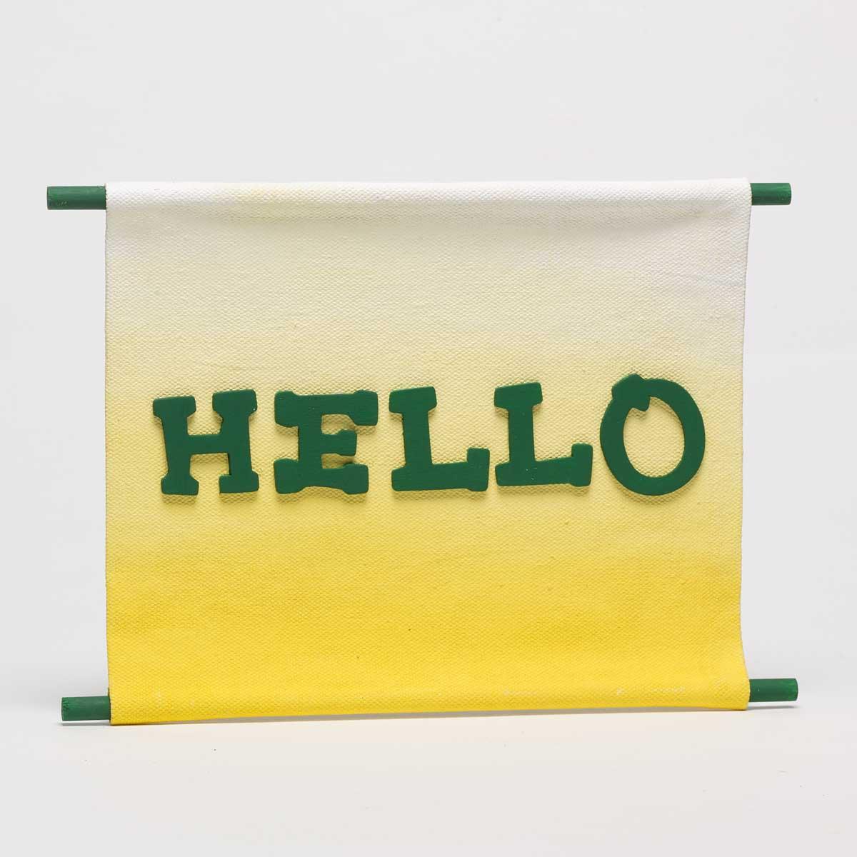 """Hello"" Banner"