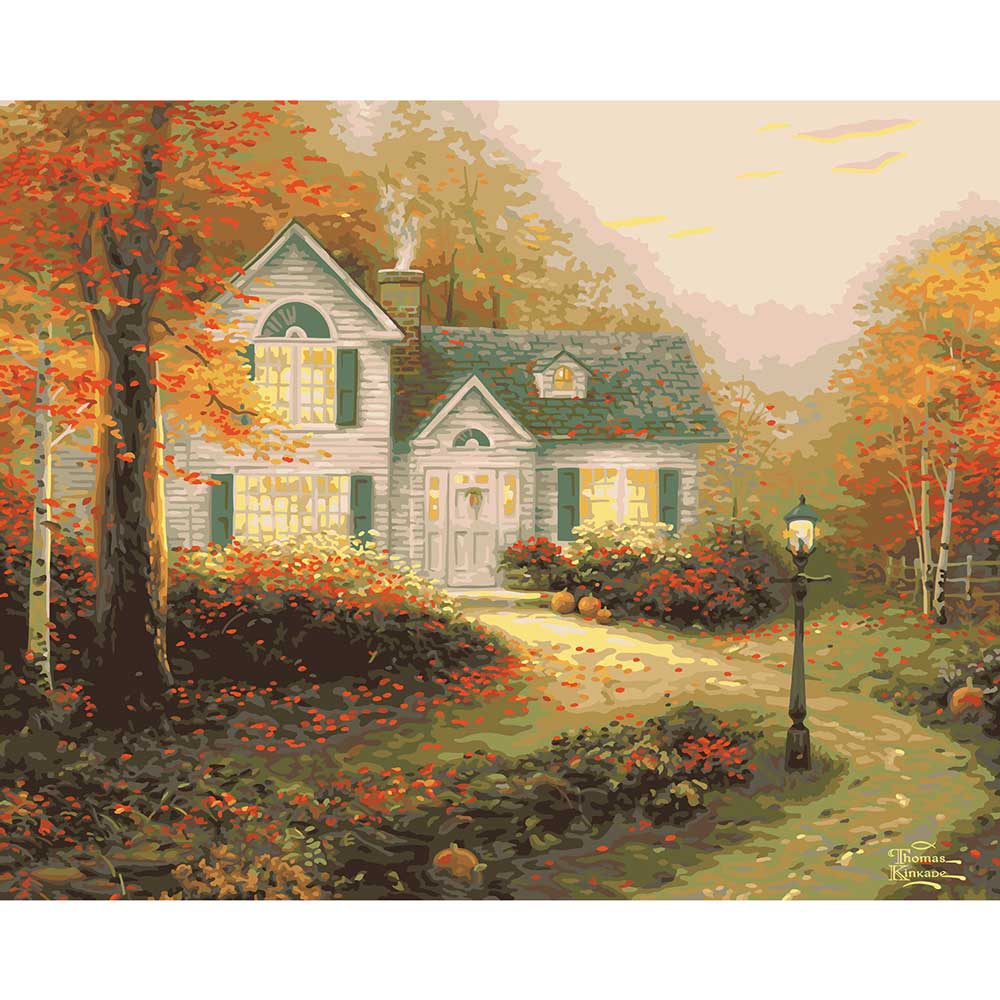 Plaid ® Paint by Number - Thomas Kinkade™ - The Blessings of Autumn