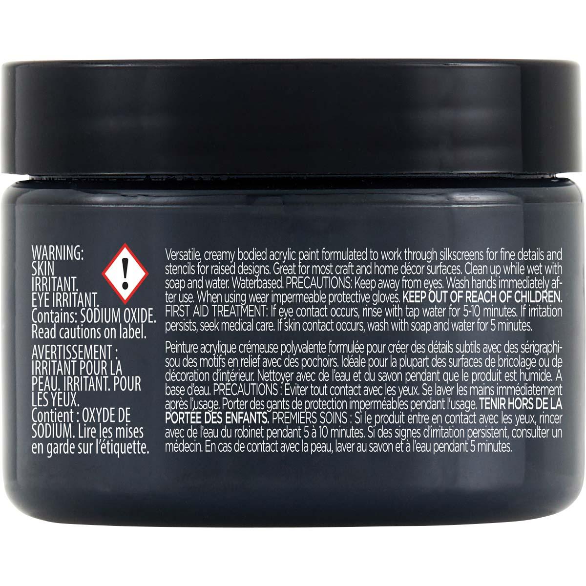 FolkArt ® Design Creme™ - Classic Black, 3 oz. - 34938