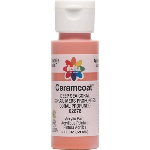 Delta Ceramcoat ® Acrylic Paint - Deep Sea Coral, 2 oz.