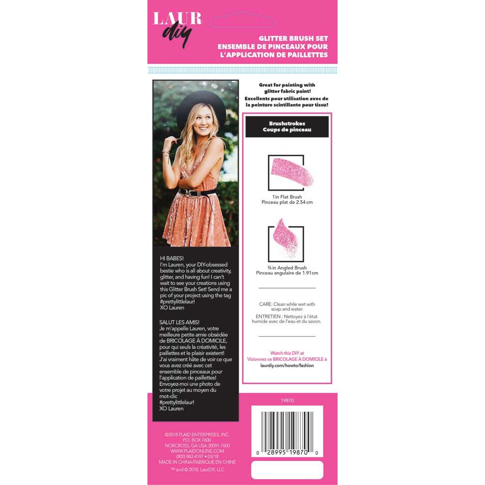LaurDIY ® Brush Set - Silicone, 2 pc.