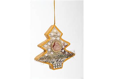 Simply Chic Christmas Tree Ornament