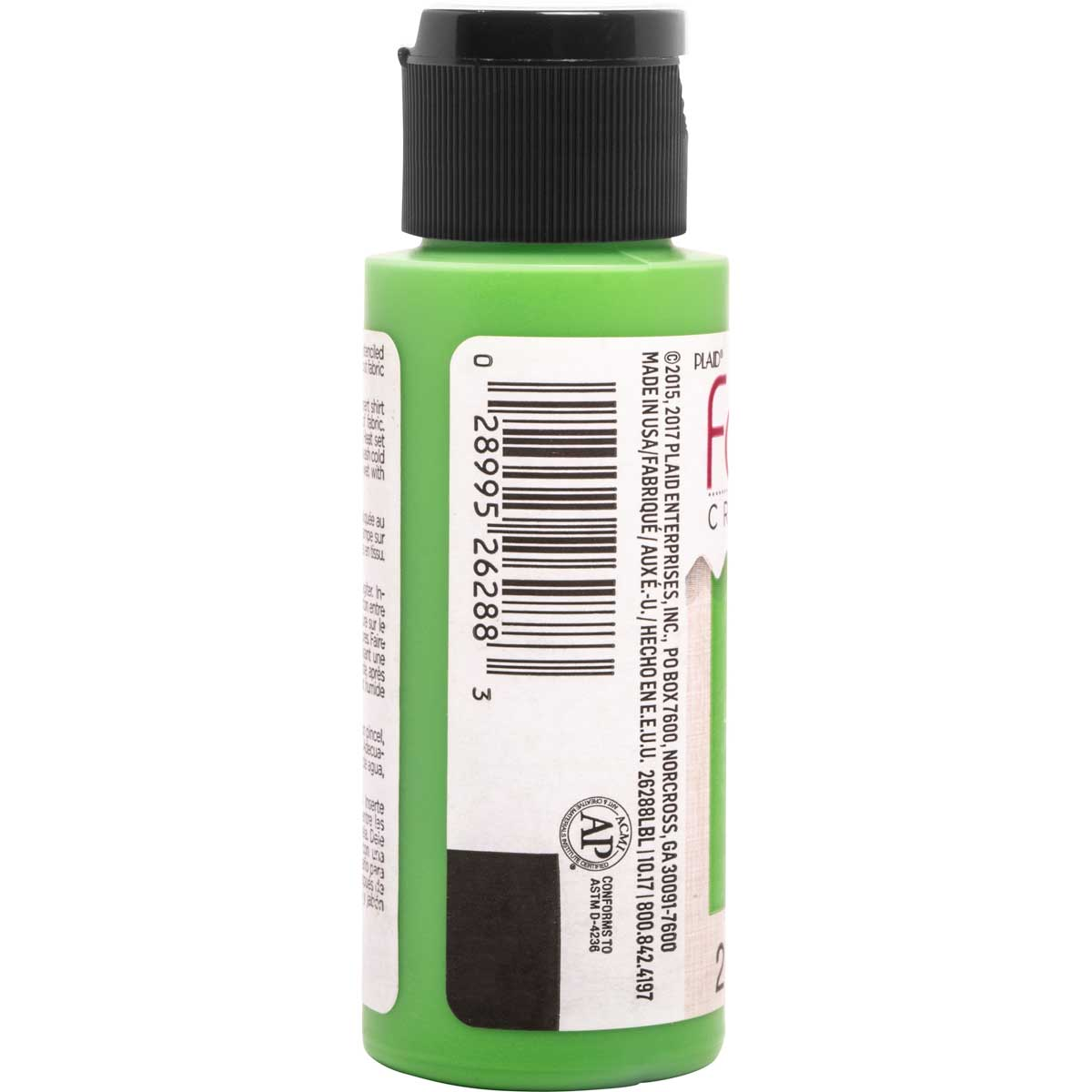 Fabric Creations™ Soft Fabric Inks - Sour Apple, 2 oz.