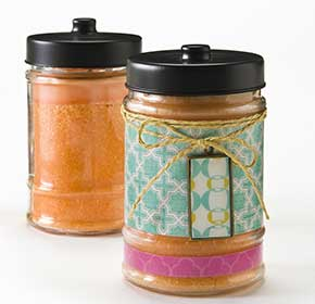 Jar Candle Makeover with Mod Podge