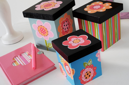 Flower Stack Boxes