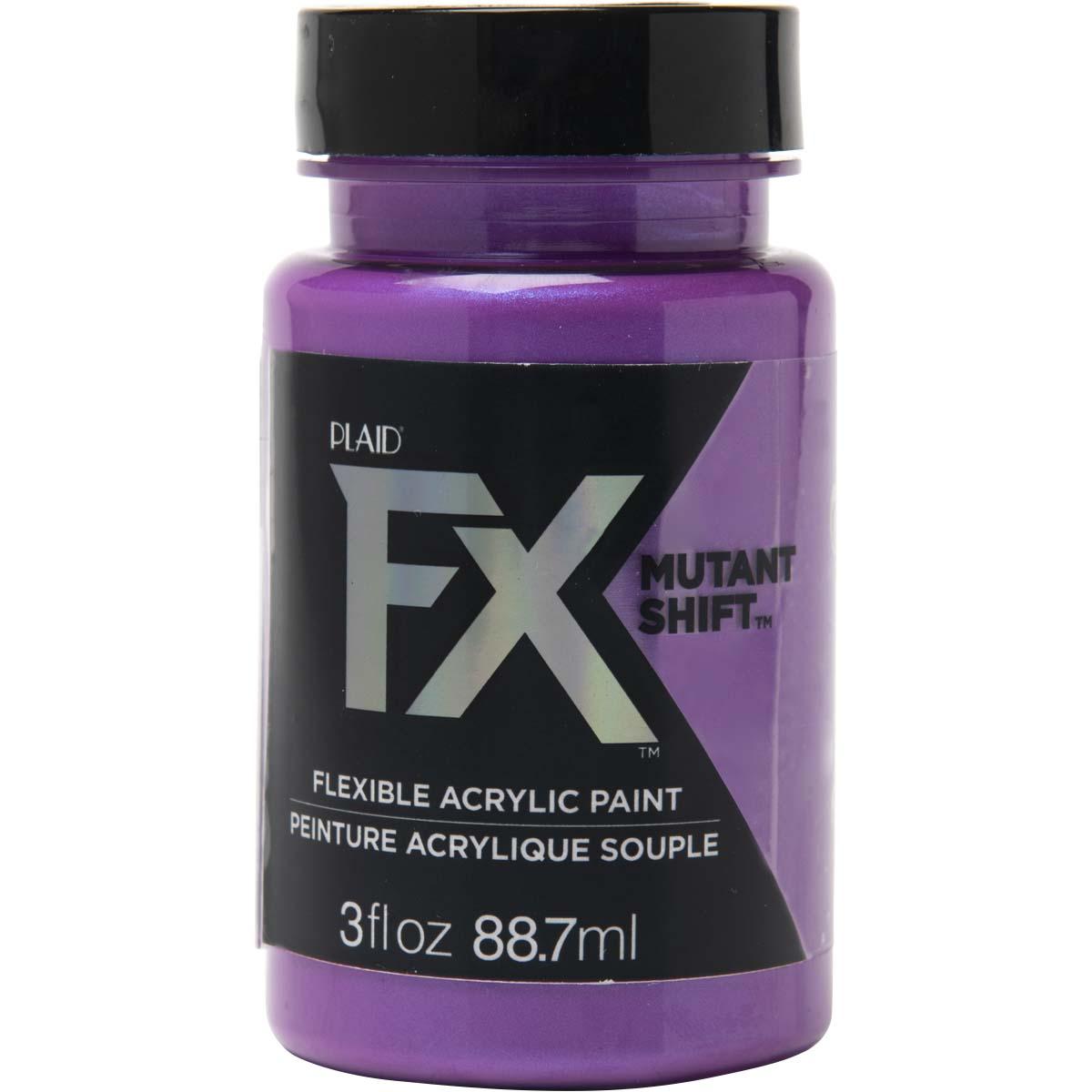 PlaidFX Mutant Shift Flexible Acrylic Paint - Ultraviolet, 3 oz. - 36909