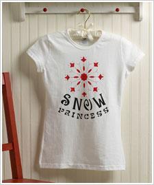 Snow Princess T-shirt