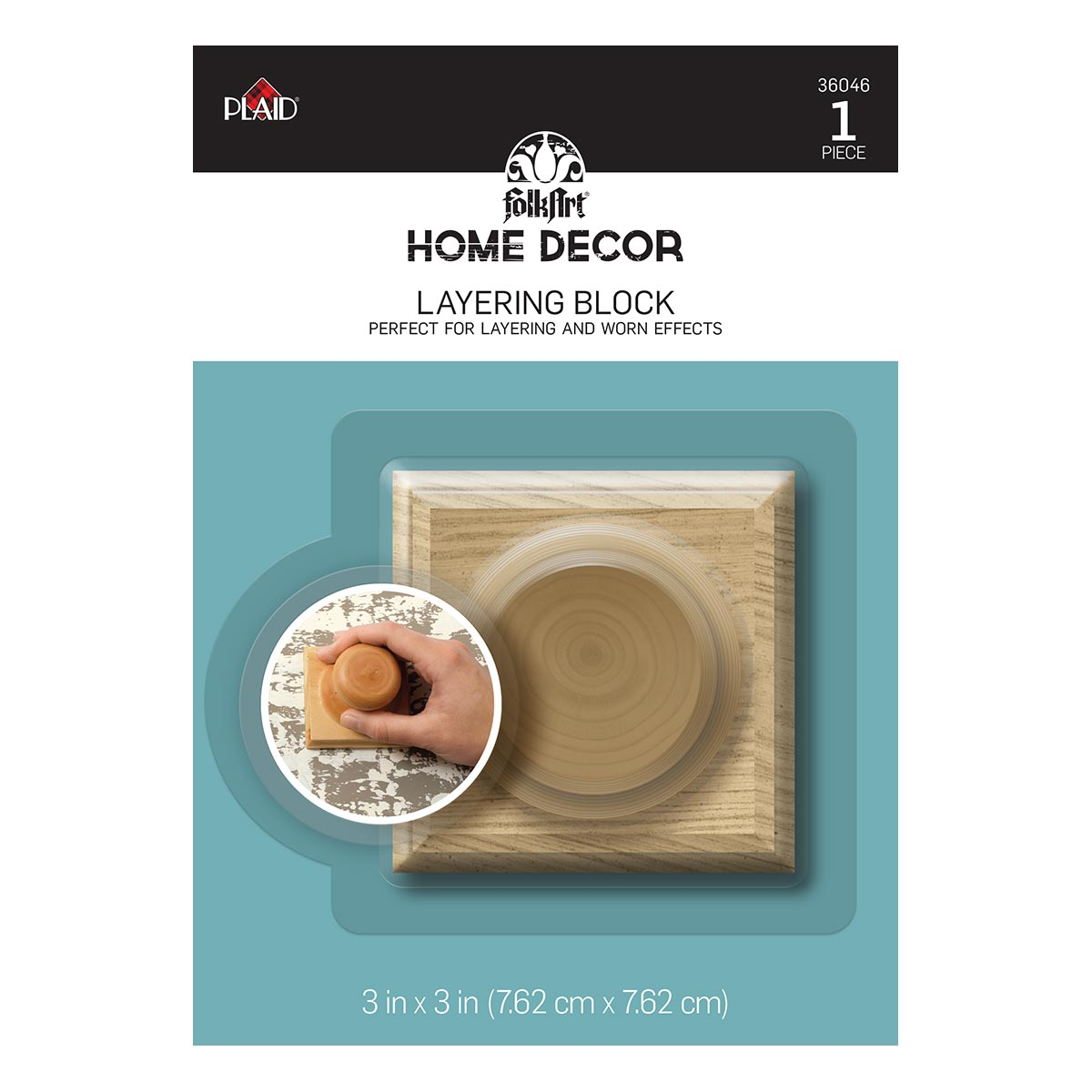 FolkArt ® Home Decor™ Tools - Layering Block - 36046