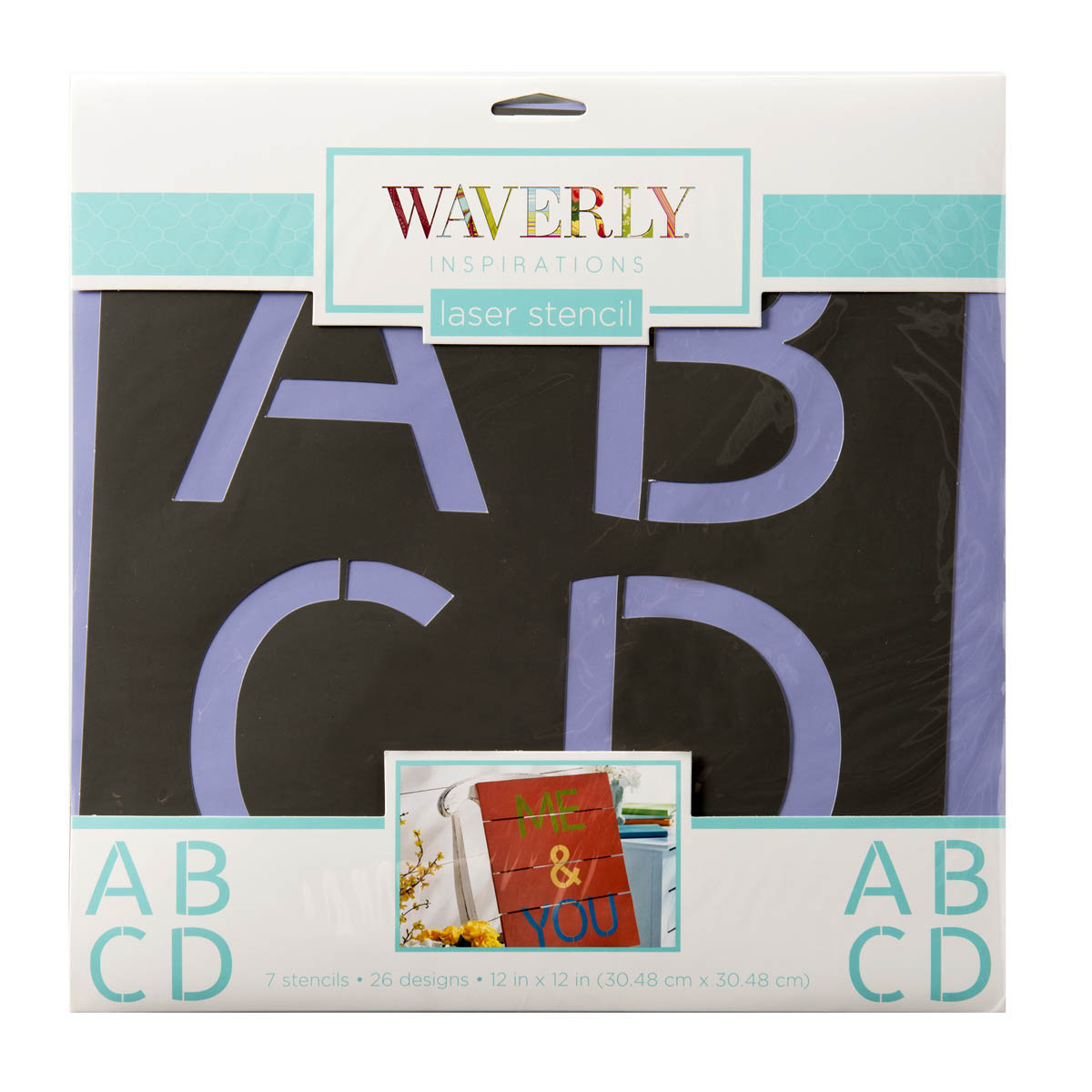 Waverly ® Inspirations Stencils - Decor - Alpha Basic, 12