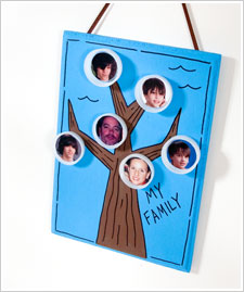 Fun for Kids Family Tree