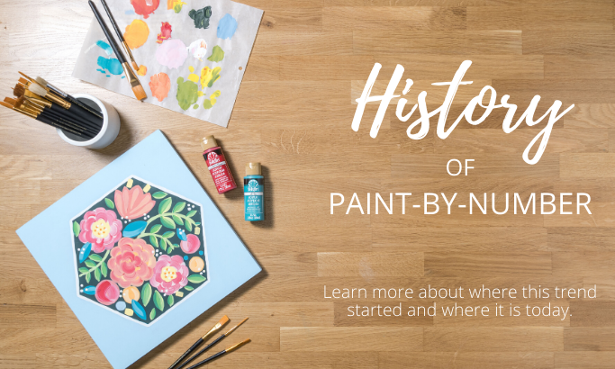 History of Paint-By-Number | The Plaid Palette DIY craft ideas ...