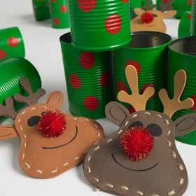 DIY Tin Can Alley Game