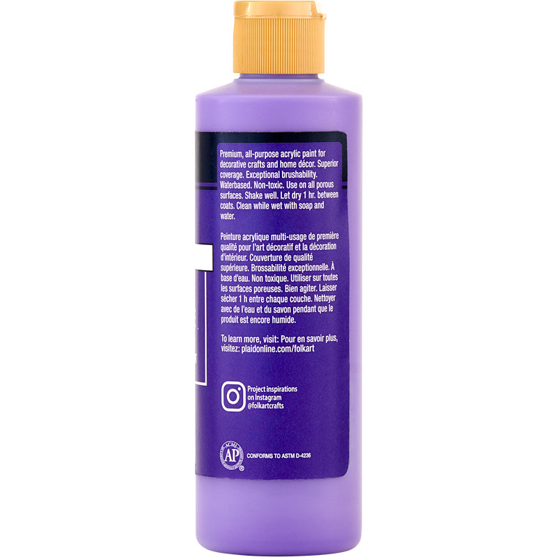 FolkArt ® Acrylic Colors - Violet Pansy, 8 oz. - 2328