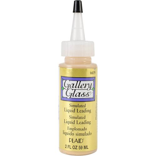 Gallery Glass ® Liquid Leading™ - Gold Metallic, 2 oz.