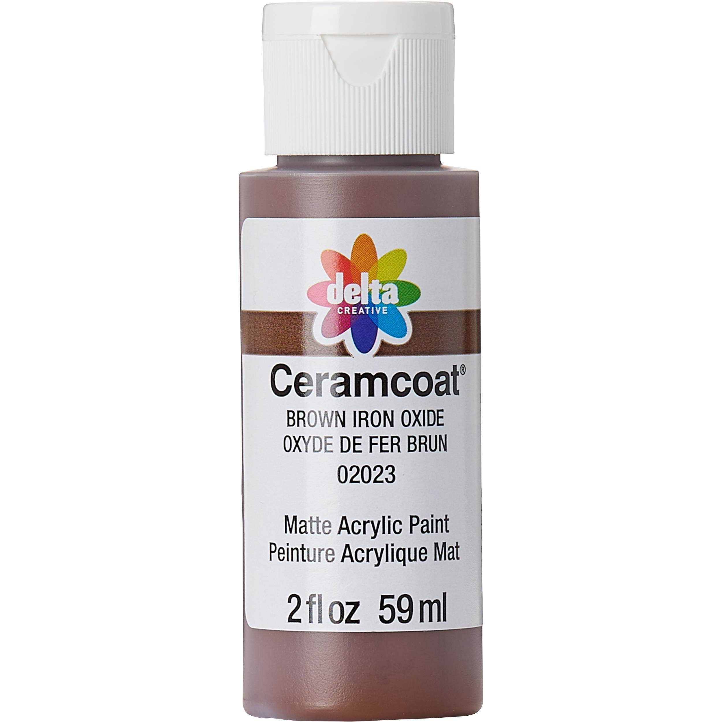 Delta Ceramcoat ® Acrylic Paint - Brown Iron Oxide, 2 oz.