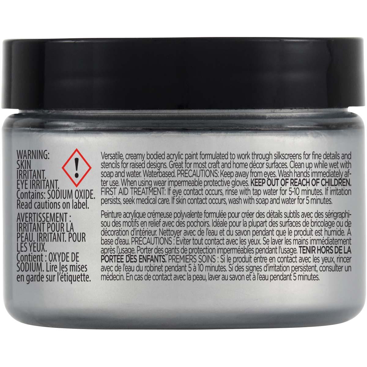 FolkArt ® Design Creme™ - Silver, 3 oz. - 34939