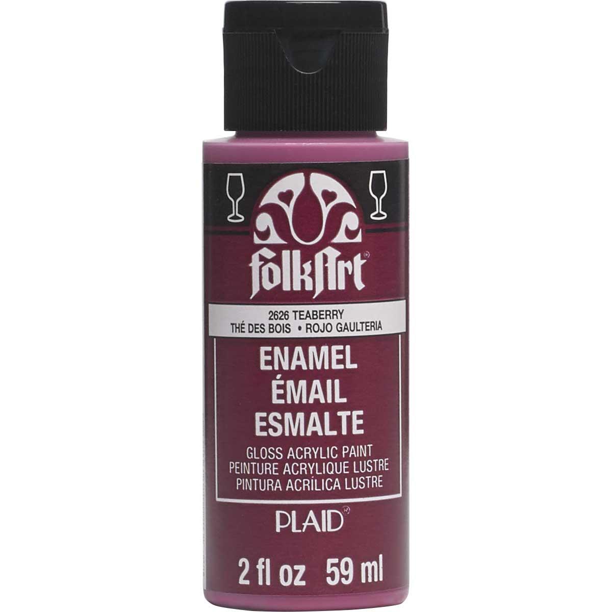 FolkArt ® Enamels™ - Teaberry, 2 oz.