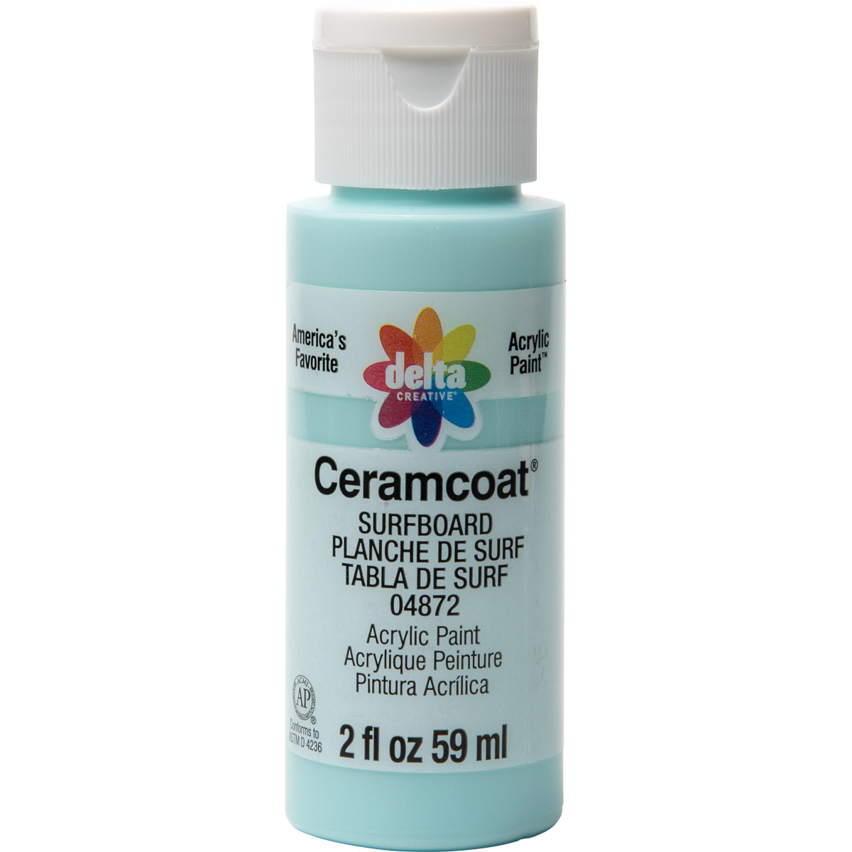 Delta Ceramcoat ® Acrylic Paint - Surfboard, 2 oz. - 04872