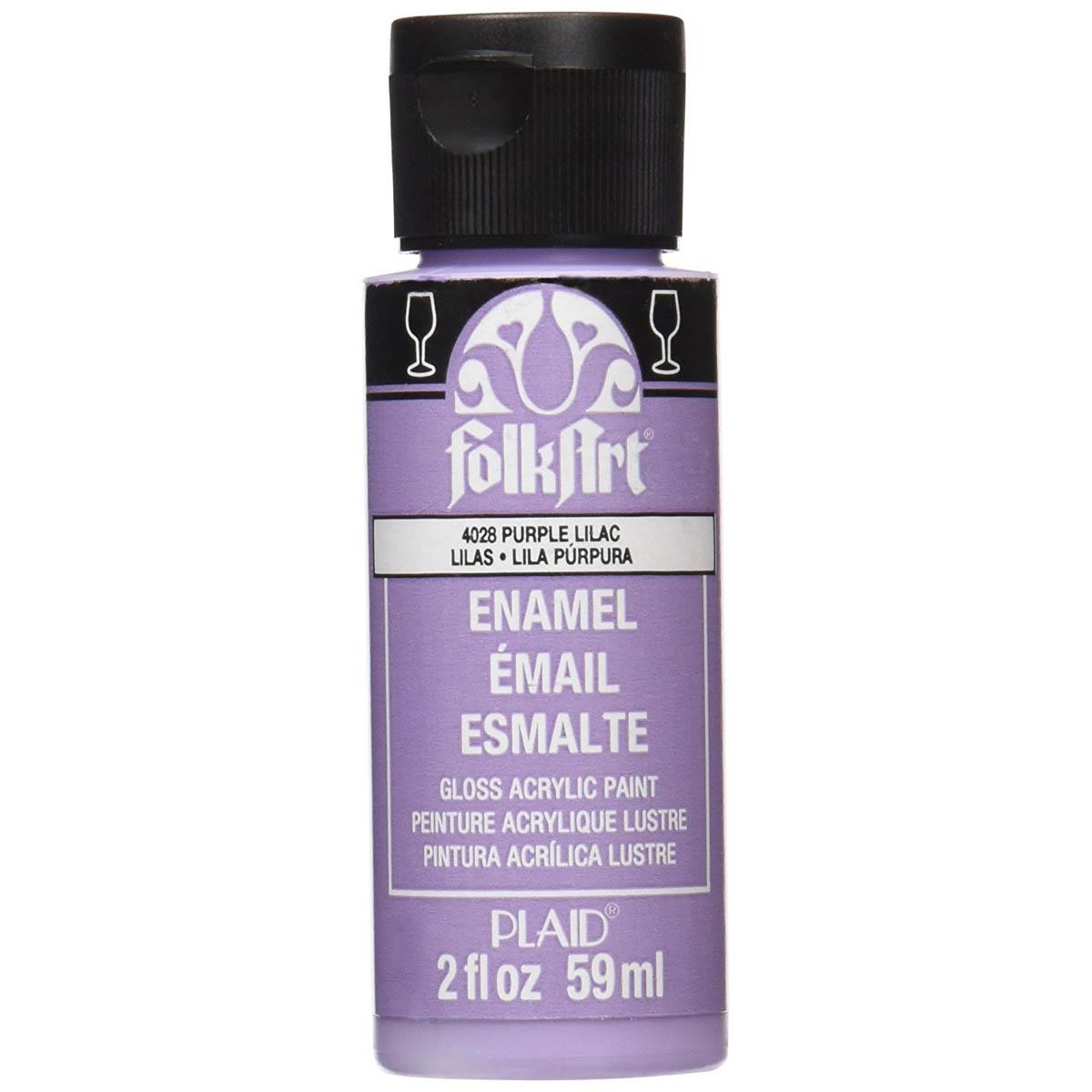 FolkArt ® Enamels™ - Purple Lilac, 2 oz. - 4028