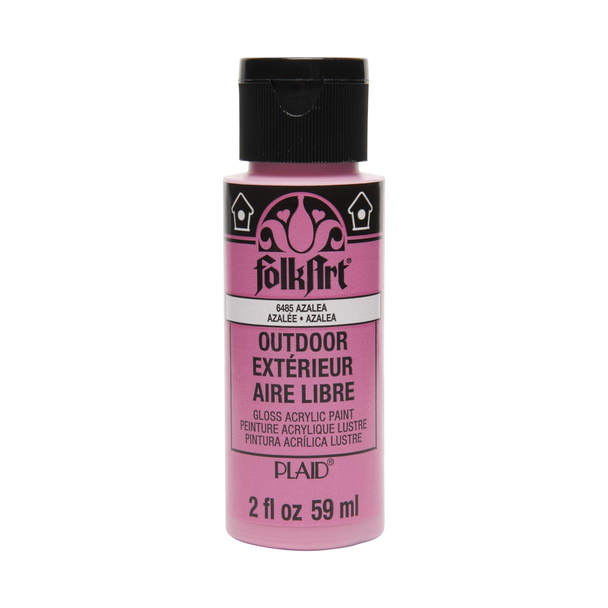 FolkArt ® Outdoor™ Acrylic Colors - Azalea, 2 oz. - 6485