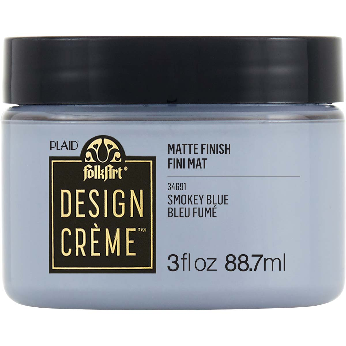 FolkArt ® Design Creme™ - Smokey Blue, 3 oz. - 34691