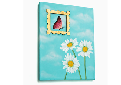 Framed Butterfly Canvas