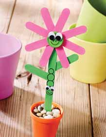 Craft Stick Flower