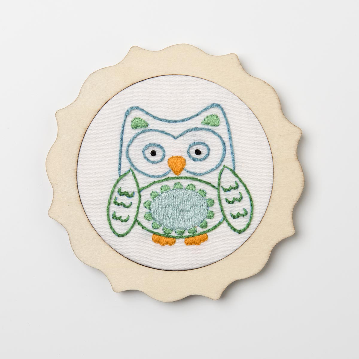 Bucilla ® My 1st Stitch™ - Stamped Embroidery Kits - Blue Owl