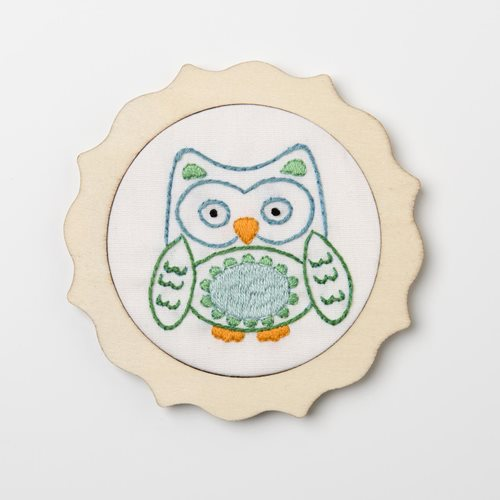 Bucilla ® My 1st Stitch™ - Stamped Cross Stitch Kits - Blue Owl