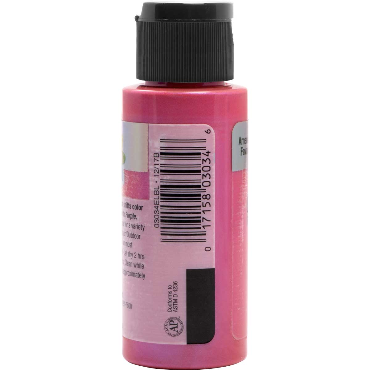 Delta Ceramcoat ® Acrylic Paint - Flash Metallic Pink, 2 oz.