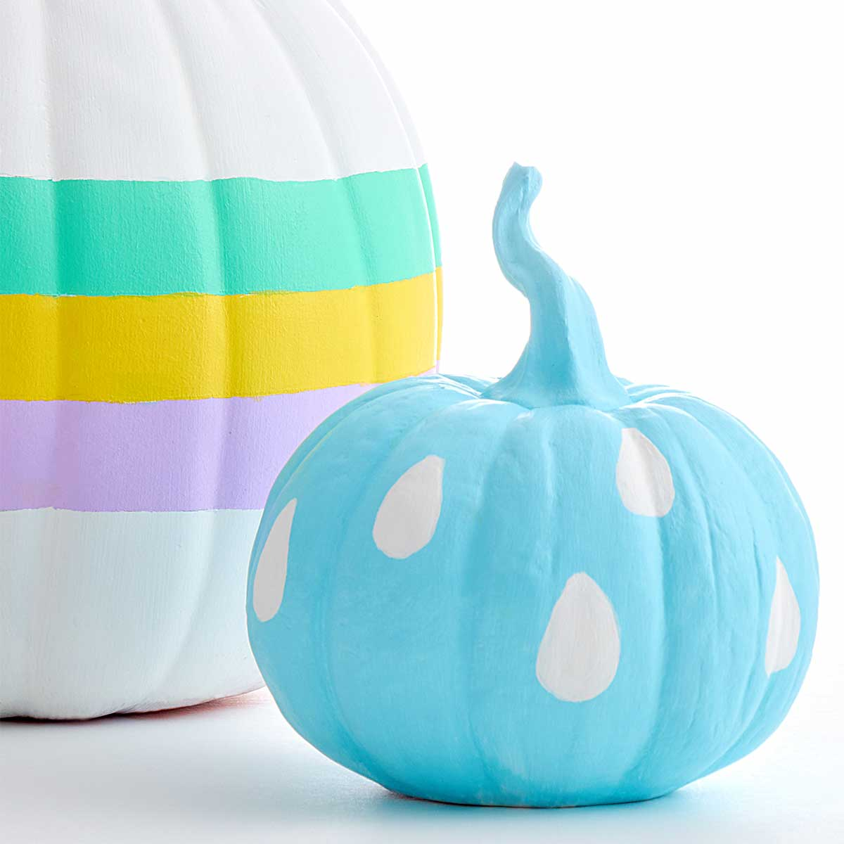 Apple Barrel Pastel Pumpkins