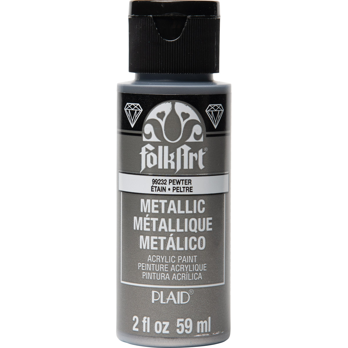 FolkArt ® Metallics - Pewter, 2 oz. - 99232