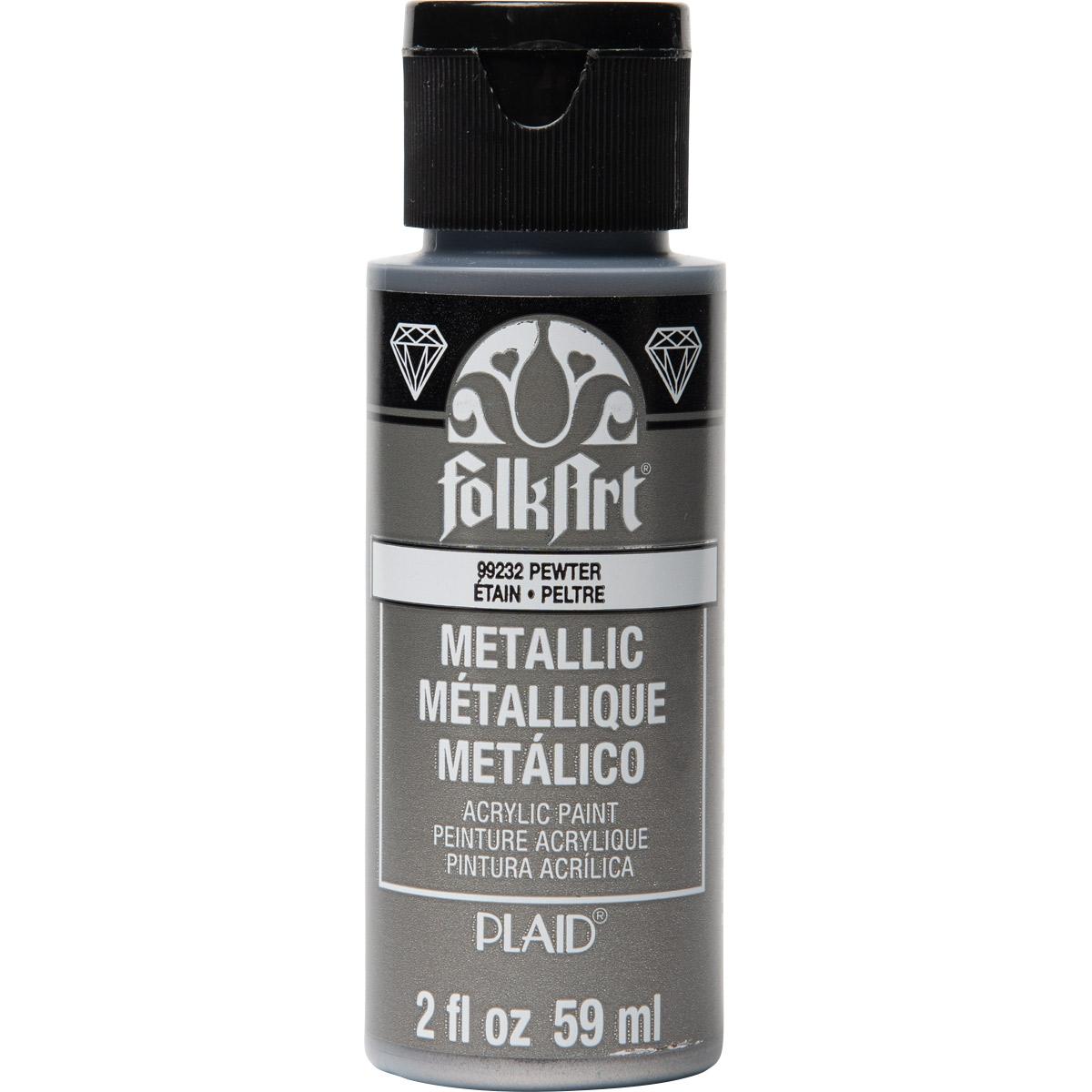 FolkArt ® Metallics - Pewter, 2 oz.