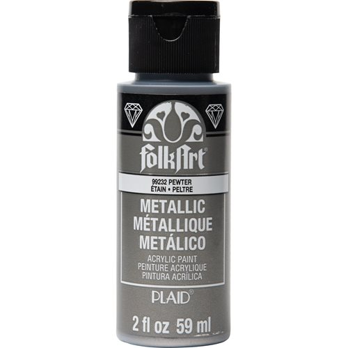FolkArt ® Metallics - Pewter, 2 oz.