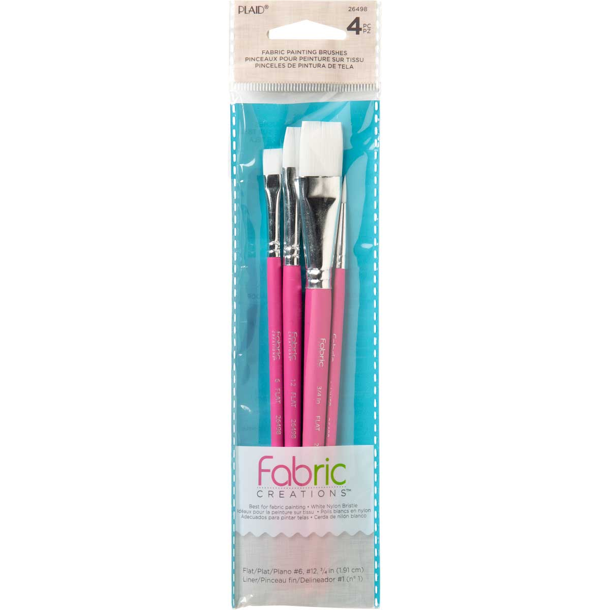 Fabric Creations™ Brush Set - Fabric Painting Set - 26498