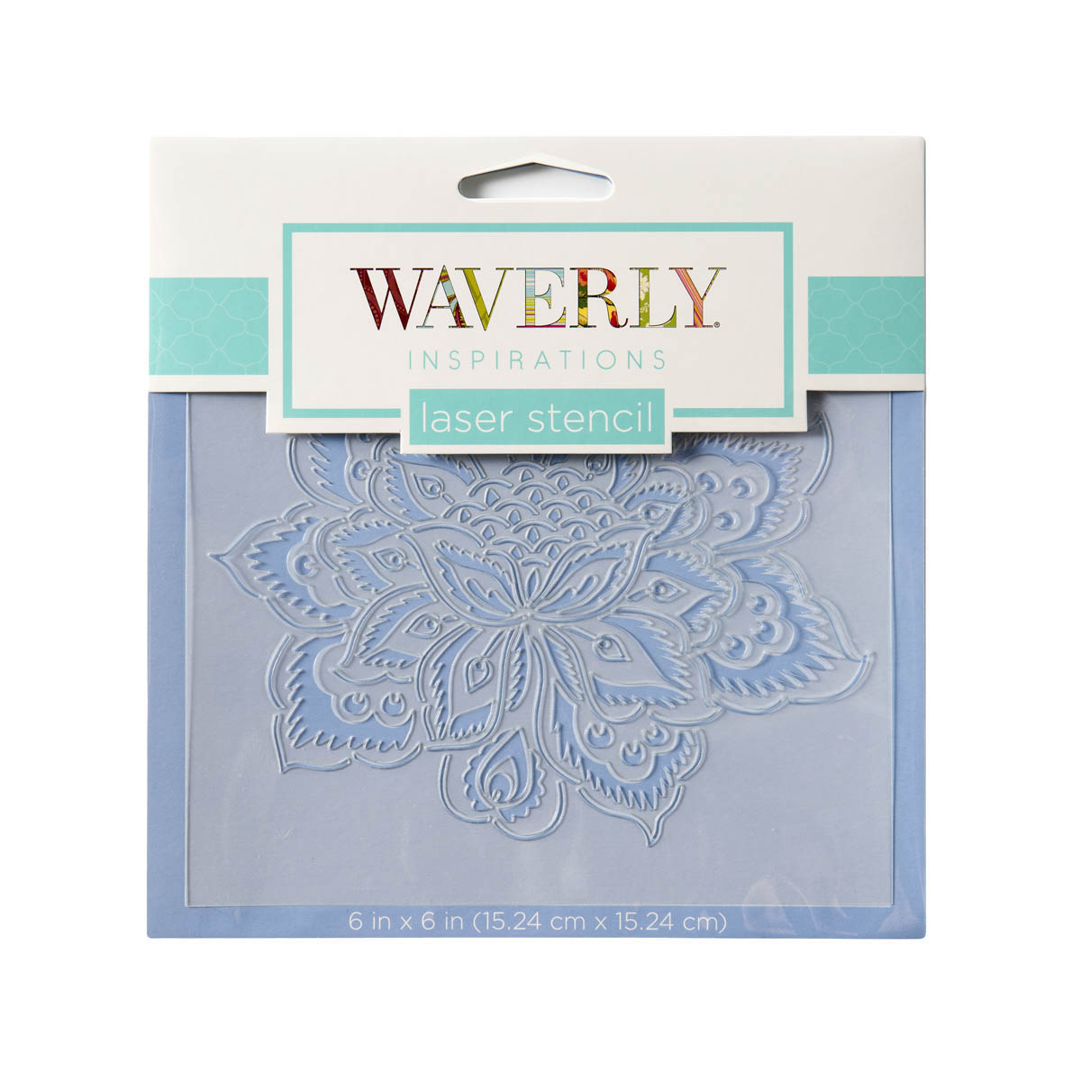 Waverly ® Inspirations Laser Stencils - Accent - Floral Ornate, 6