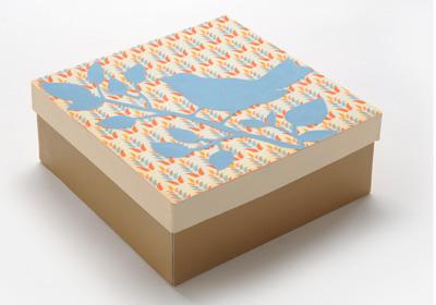 Square Fall Bird Box