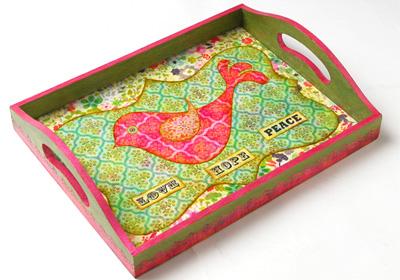 Lovebird Tray